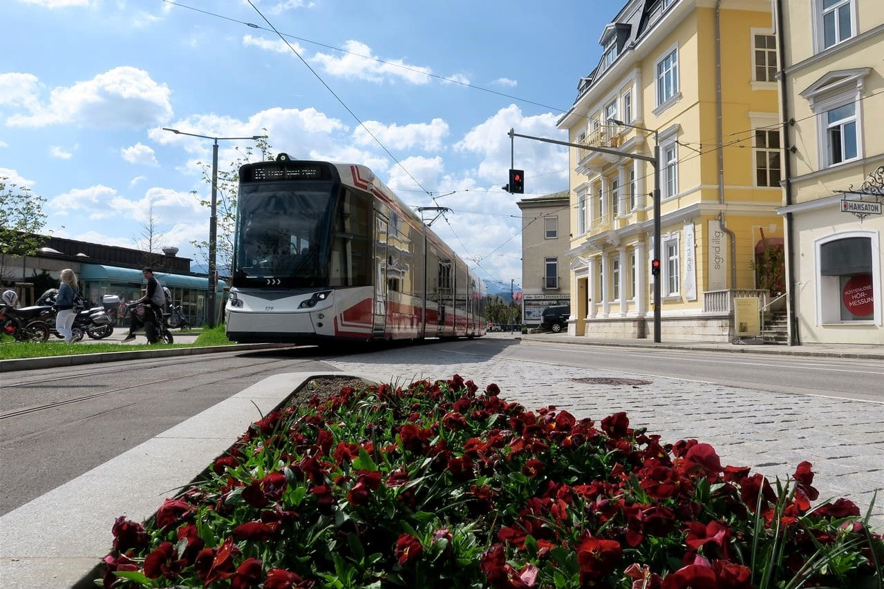 tramwaj w Gmunden